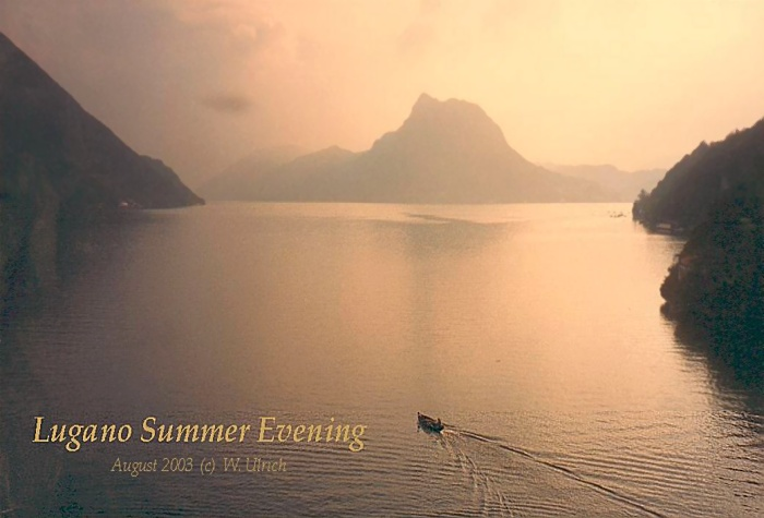August 2003 - Lugano Summer Night
