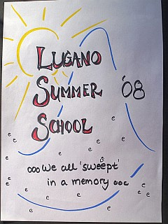 LSS 2008 Memory Booklet - title page, modeled after the LSS logo (click to enlarge)