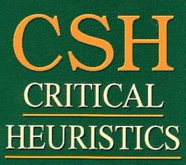"""CSH"" has become the widely used acronym for my critical systems heuristics, which by its full name means ""critical heuristics of systems thinking,"" and particularly, of social systems design."