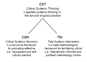 CST and its two strands: terminology