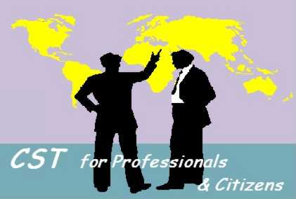 "The logo of my research programme ""CST for professionals and citizens"" � W. Ulrich 1997"