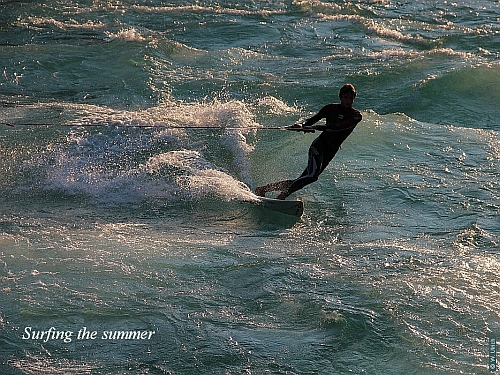Surfing the summer