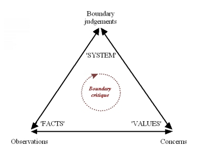 Systemic triangulation: the process of boundary critique